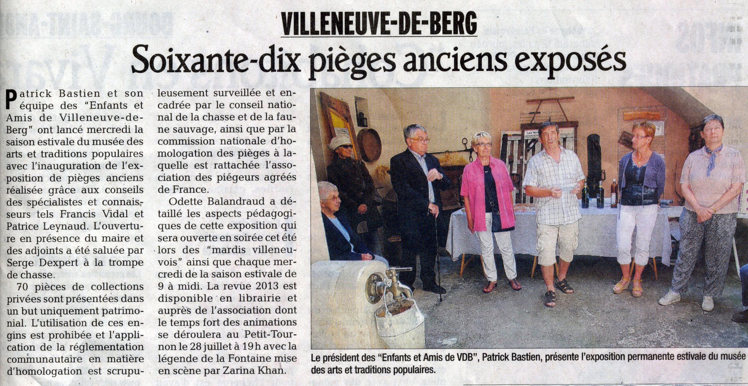 Expo-pièges