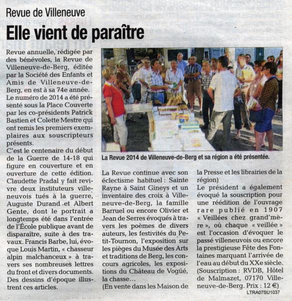 Revue Tribune